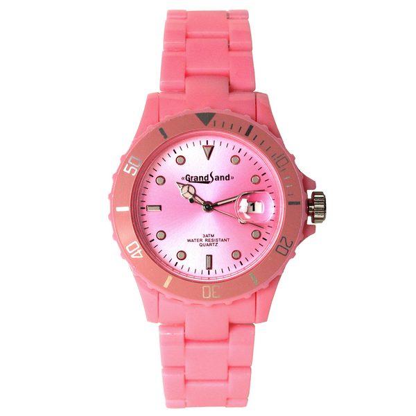 Klocka: Coloristic Hot Pink