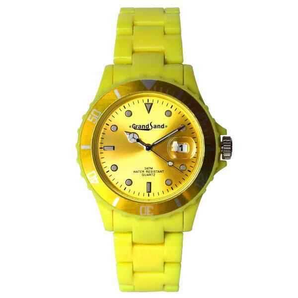 Klocka: Coloristic Sunny Yellow