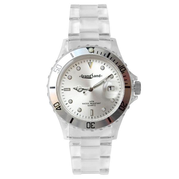 Klocka: Crystalized Silver